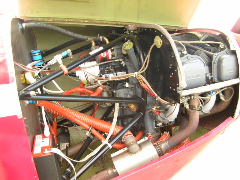 Stinson 108 Engine Options